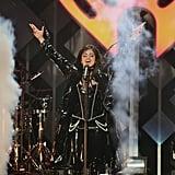 Camila Cabello at iHeartRadio's Jingle Ball in NYC