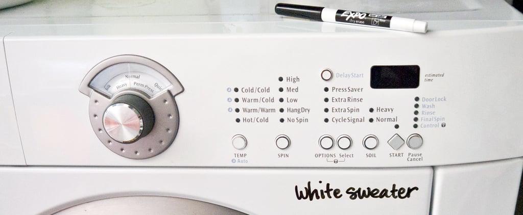 Laundry Reminder Trick