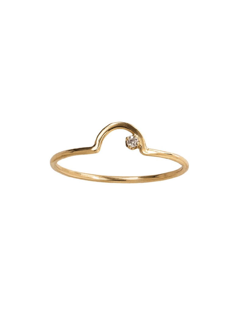 Wwake Ring with Diamond ($254)