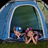 Camp in the backyard.