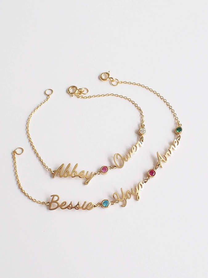 Etsy Name Bracelet