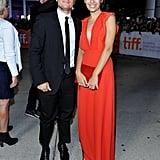 Josh Hutcherson and girlfriend Claudia Traisac made a dashing pair at their Escobar: Paradise Lost premiere.