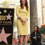 Julianne Moore was honored with a star on the Hollywood Walk of Fame.