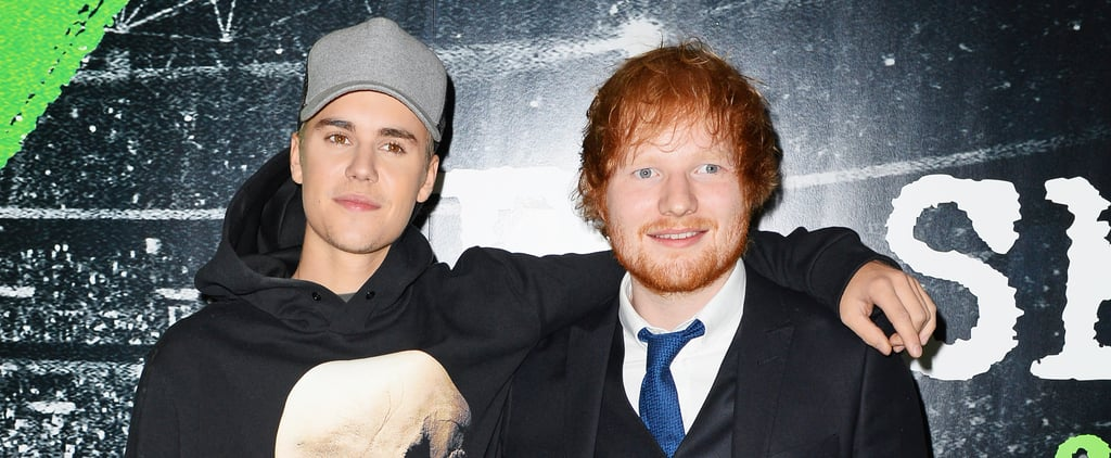 "Ed Sheeran and Justin Bieber ""I Don't Care"" Song"