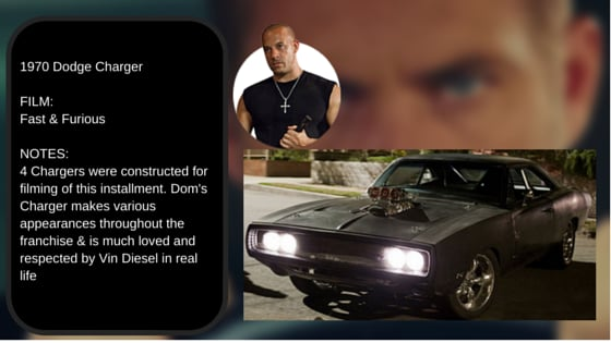 doms 1970 dodge charger best cars from all the fast and