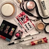 """""""Behind the scenes!"""" Nguyen said. """"We are about to set up for the Grammys with the Limited Edition CoverGirl Katy Kat Pearl products."""""""
