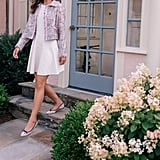PS: For anyone who thinks the ballet flat isn't exactly a sexy or modern option, how would you tell them to style it?