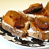 Roasted Fruit-Topped Bread