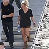 Britney Spears Gets in Disguise For Her Perfume Shoot