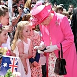 When This Little Girl Gave the Queen a Stuffed Toy