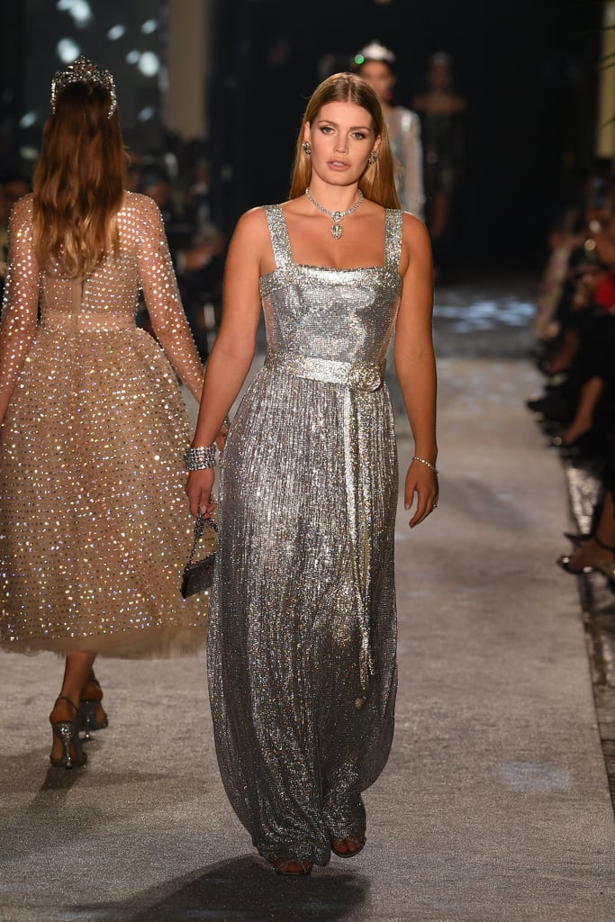 You'll Often Find Her Strutting Down the Dolce & Gabbana Runway