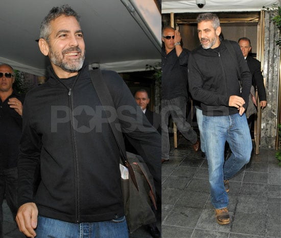 George Clooney: Hot Even With A Broken Wing