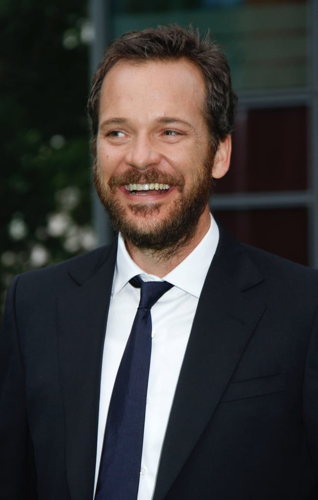 Peter Sarsgaard flashed a wide smile.