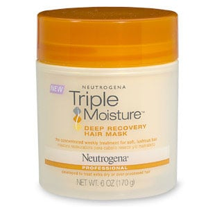 Doing Drugstore: Neutrogena Triple Moisture Deep Recovery Hair Mask