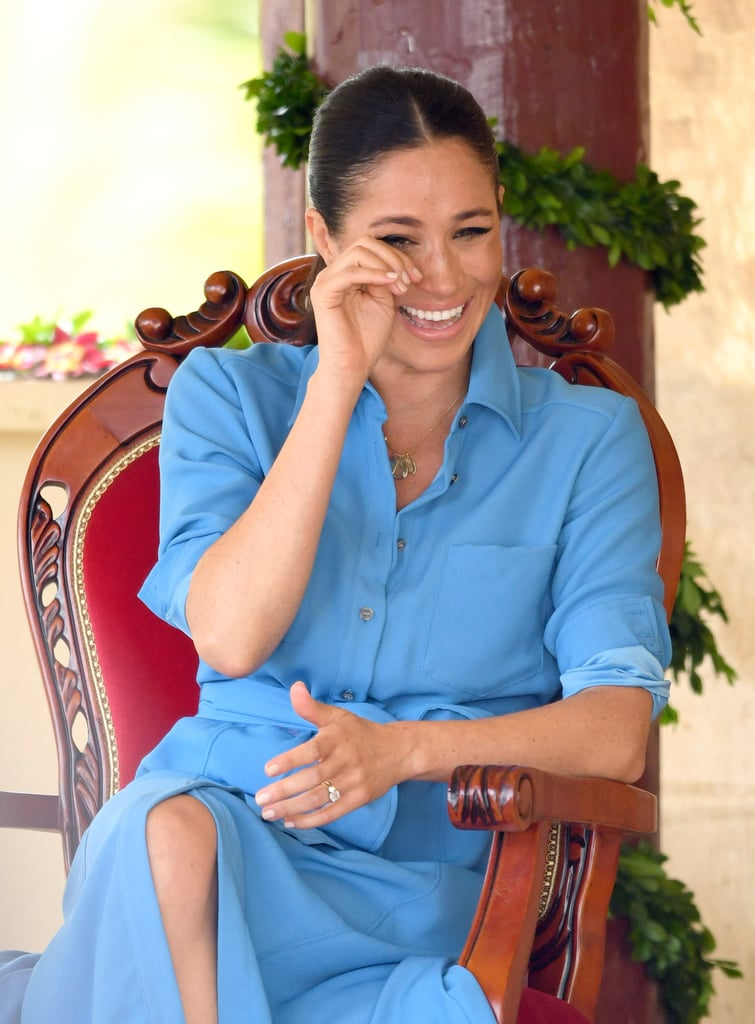 25 Times Meghan Markle Simply Could Not Contain Her Laughter