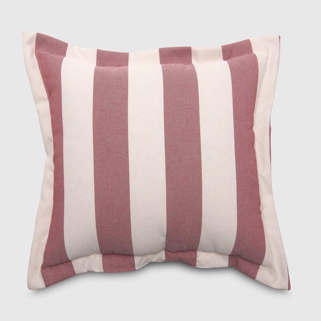 Cabana Stripe Outdoor Deep Seat Pillow Back Cushion