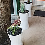 Stack Planters Together