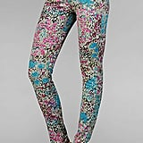 These 7 For All Mankind garden party leggings ($189) would look polished with a black blazer and laid-back with a denim jacket.