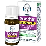 Gerber Soothe Baby Probiotic Drops With Vitamin D