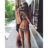 How Colorful Is This Bikini?!