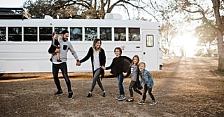 So It Turns Out This 250-Foot Converted School Bus Is the Perfect Home For a Family of 6
