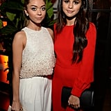 Selena also partied with Sarah Hyland.