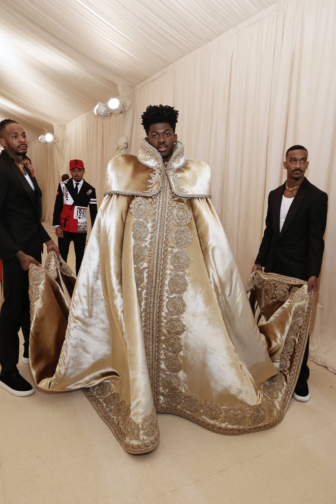 Lil Nas X's First Outfit at the 2021 Met Gala