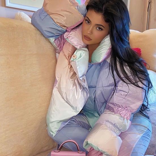 Kylie Jenner's Iridescent Puffer Jacket