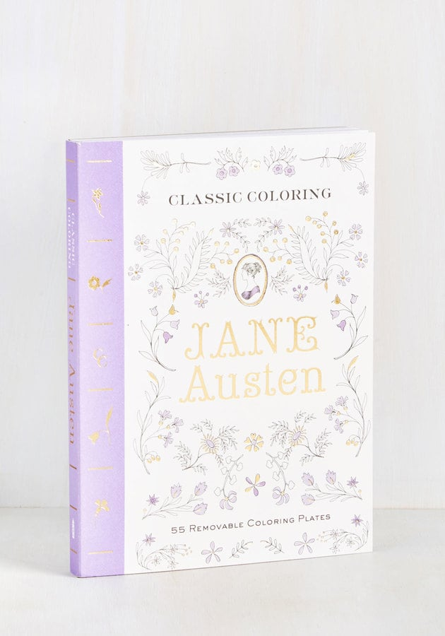 Jane Austen Coloring Book Gifts For Ravenclaws Popsugar Tech