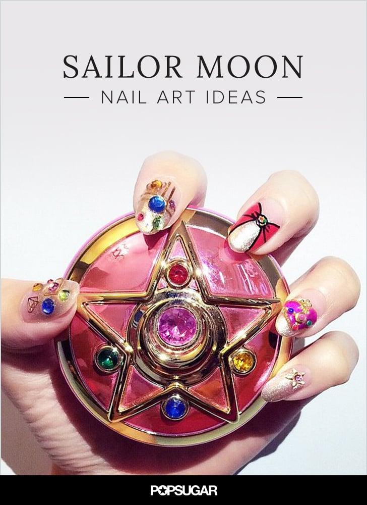 Sailor Moon Nail Art Ideas | POPSUGAR Beauty