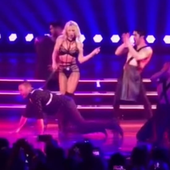 Howie Dorough at Britney Spears's Las Vegas Show Video