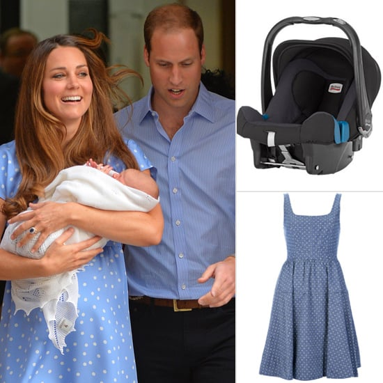 Get the Look: The Prince of Cambridge Makes His First Appearance