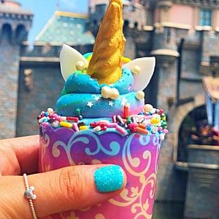 Iridescent Cupcake at Disneyland