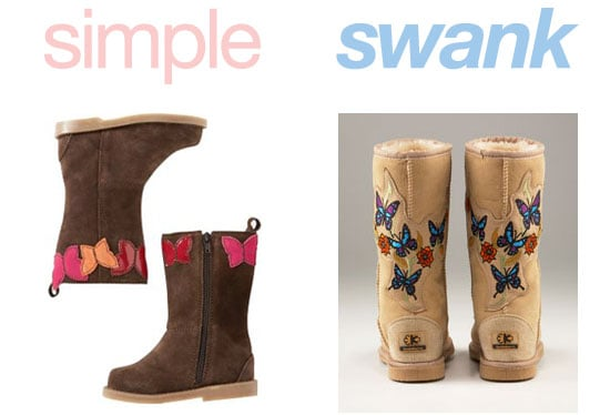 Simple or Swank: Butterfly Boots