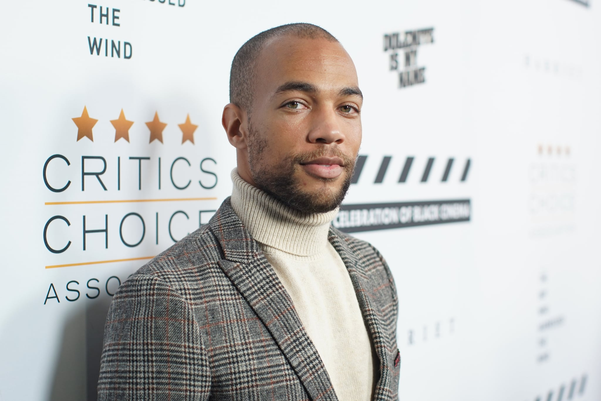 LOS ANGELES, CALIFORNIA - DECEMBER 02: Kendrick Sampson attends the Celebration of Black Cinema at Landmark Annex on December 02, 2019 in Los Angeles, California. (Photo by Randy Shropshire/Getty Images for the Celebration of Black Cinema)