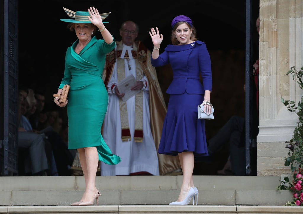 Royal Family at Princess Eugenie's Wedding | POPSUGAR ... Fergie At Eugenia S Wedding