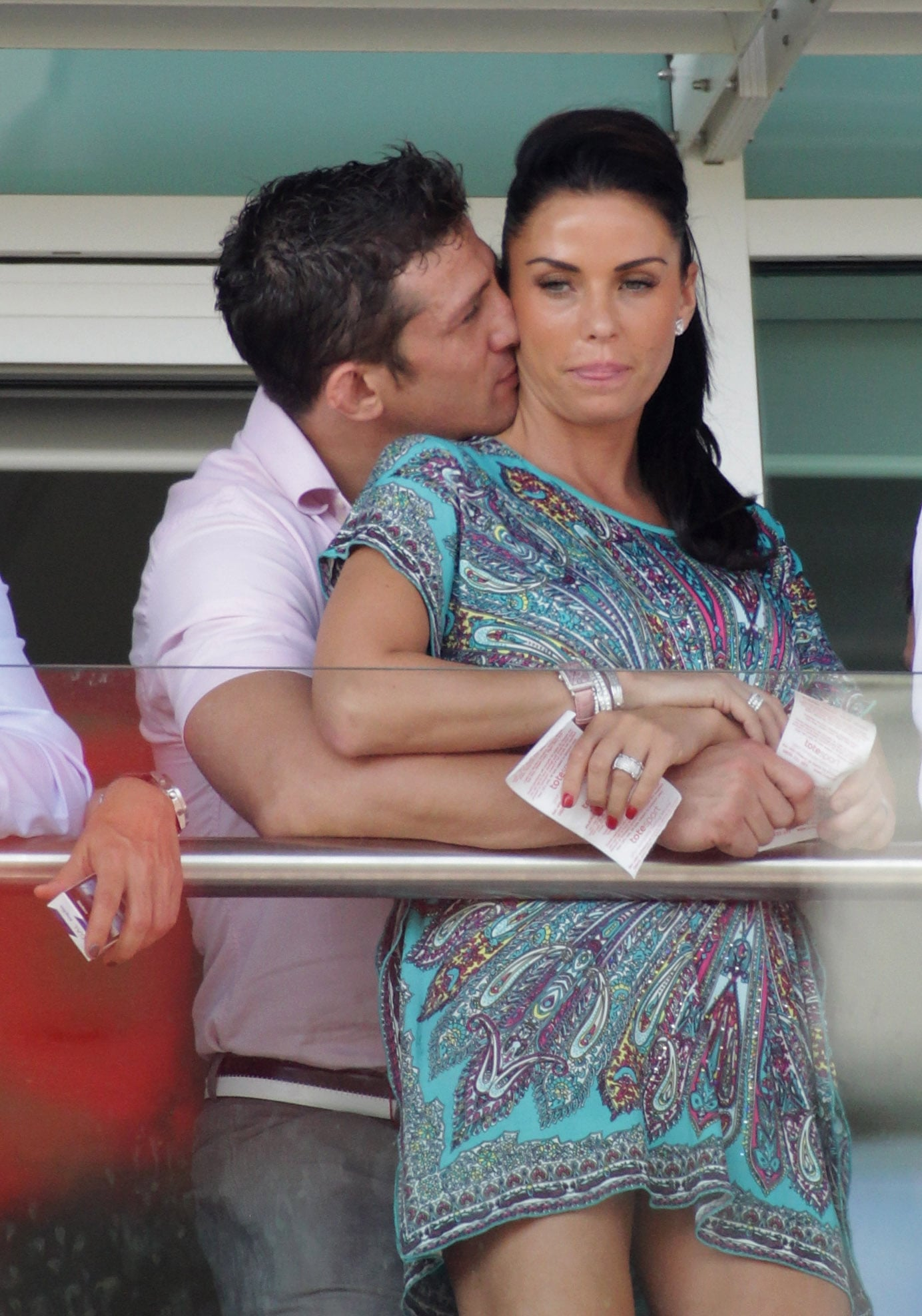 Pictures Of Katie Price And Alex Reid Kissing At Ladies