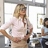 Eliza Coupe as Jane on Happy Endings.  Photo copyright 2011 ABC, Inc.