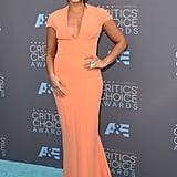 Gina Rodriguez at the Critics' Choice Awards