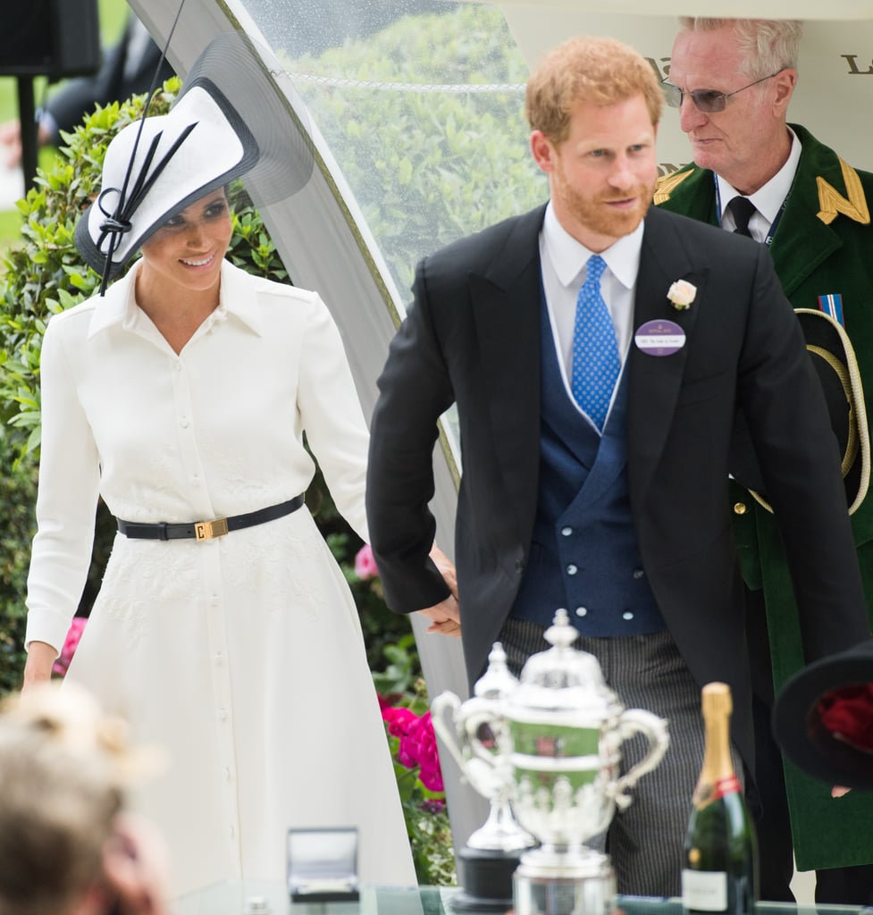 June: When Meghan and Harry Stayed Close Together at Royal Ascot