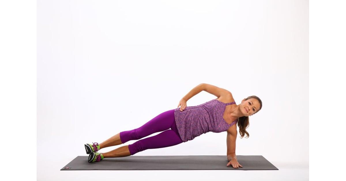 Side Planks | At-Home Back Exercises | POPSUGAR Fitness ...