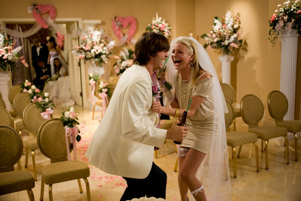 What Happens In Vegas Cameron Diaz Wedding Dress Photos Popsugar