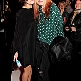 Pixie Geldof and Alison Mosshart