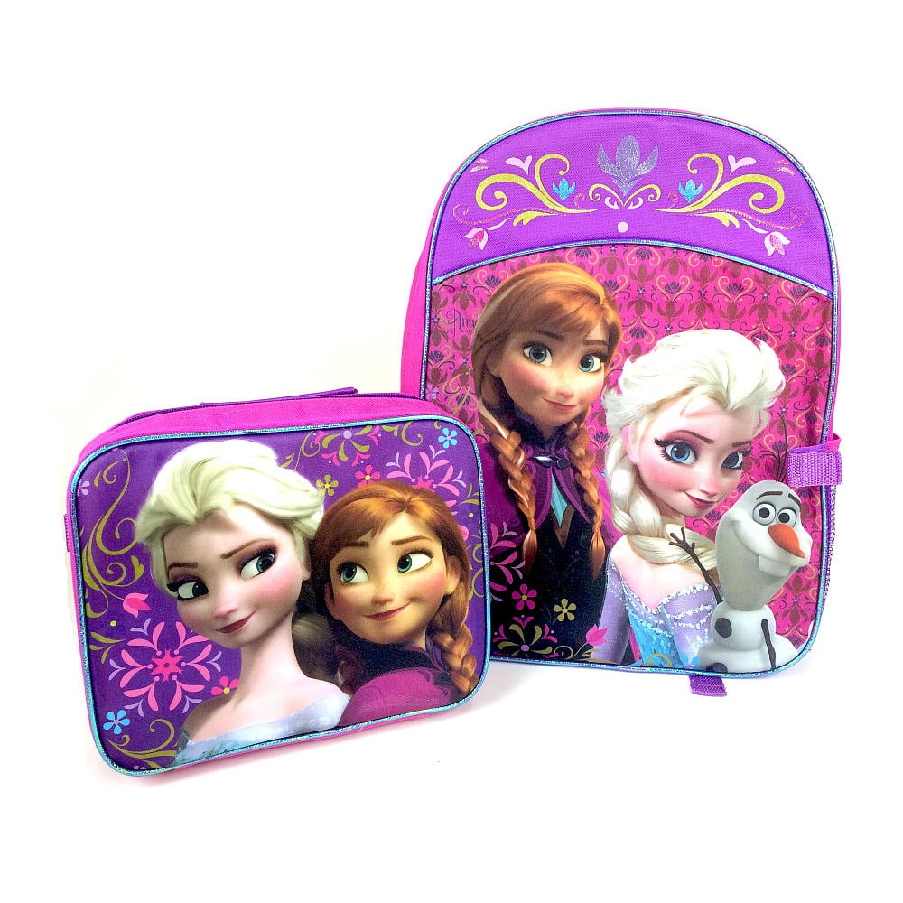 Disney Frozen Backpack With Detachable Lunch Kit