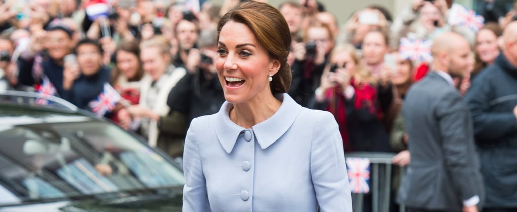 The Duchess of Cambridge Just Made History in a Sweet Yet Powerful Peplum Suit
