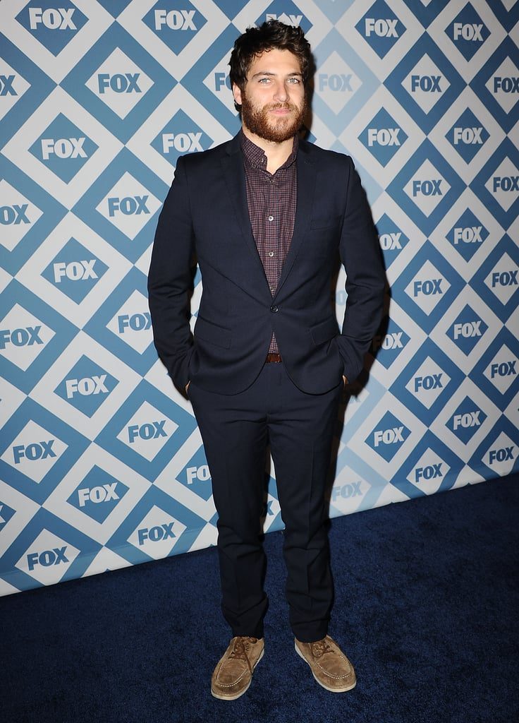 The Mindy Project's Adam Pally rocked a suit.