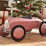 Pottery Barn's Metallic Pink Ride-On Car