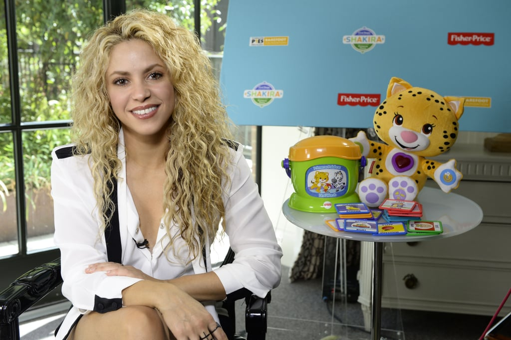 Shakira on Motherhood and Grow App
