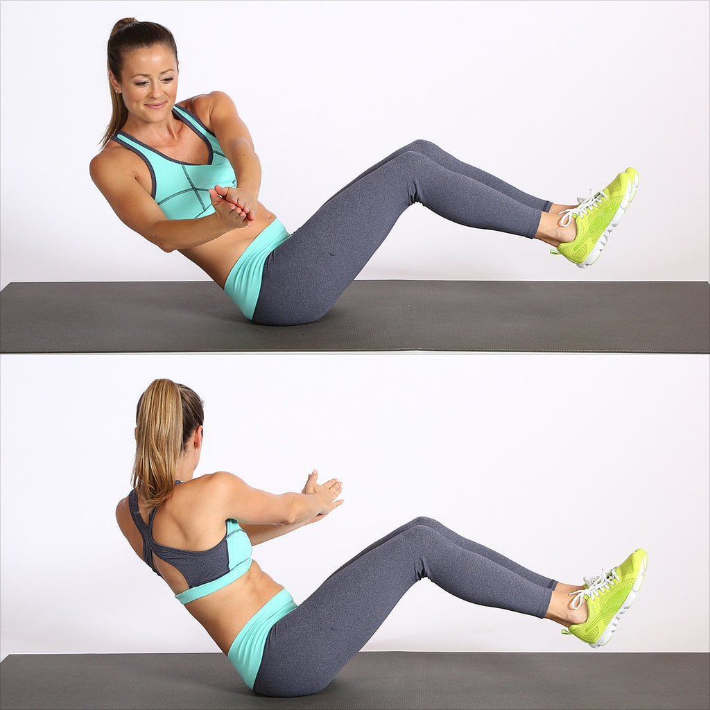 Circuit 3, Exercise 4: Seated Russian Twist