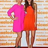 Actresses Amy Ruffle and Holly Kagis brought their colour-blocking cool to the red carpet ahead of the event at Homebush.